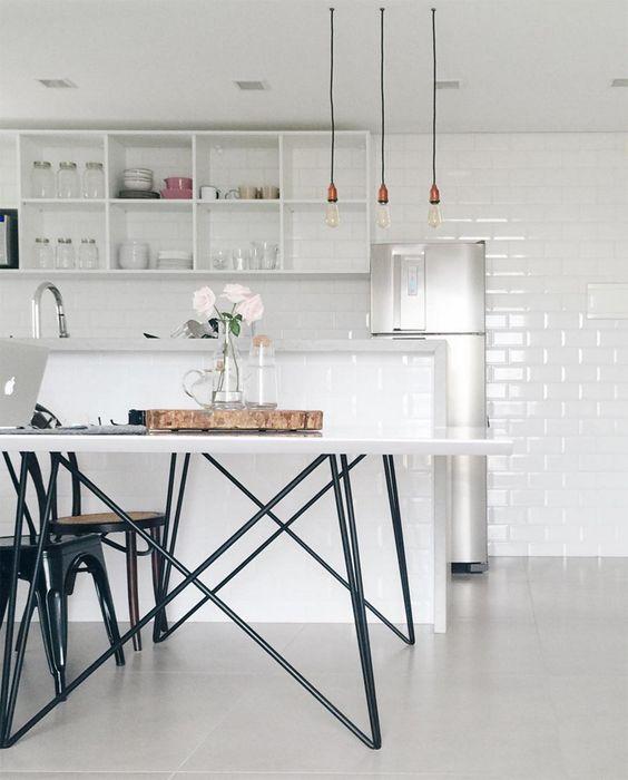 revestimento para parede de cozinha brilhante