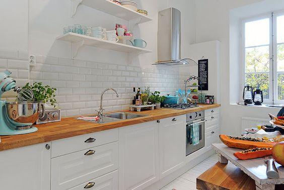 revestimento para parede de cozinha branco