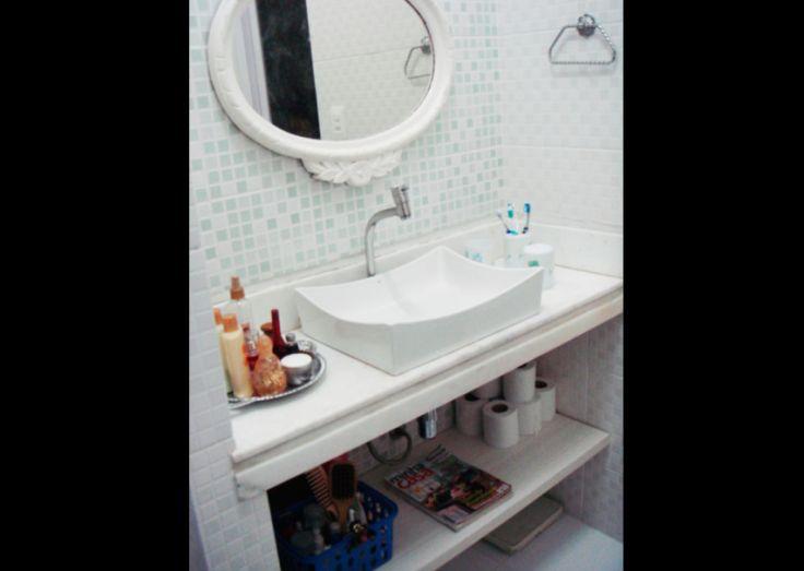cuba para banheiro comum