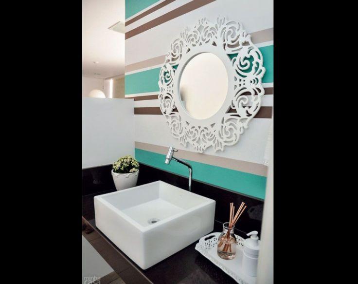 cuba para banheiro simples