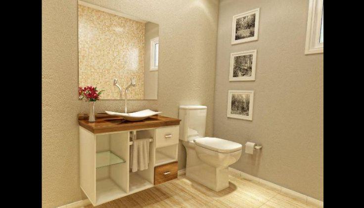 cuba para banheiro fina