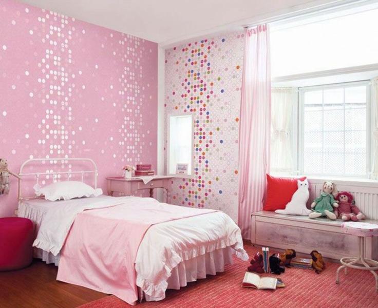 quarto de menina pink