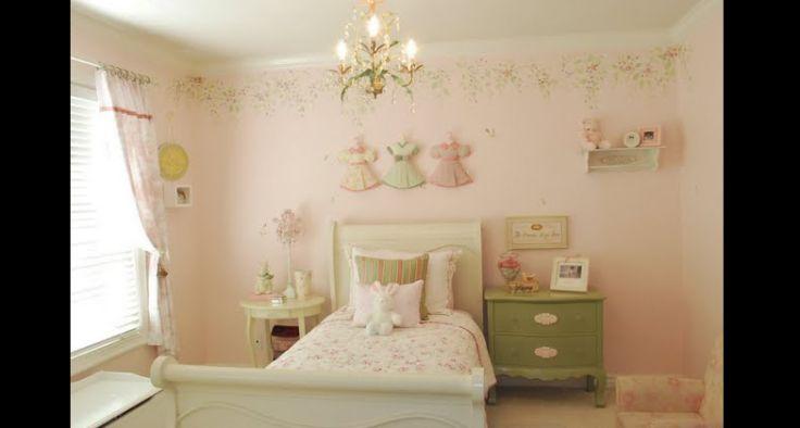 quarto de menina romantico
