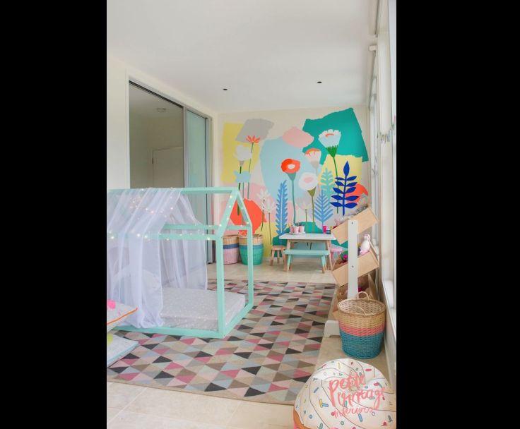 quarto de menina montessoriano