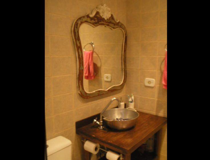 cuba para banheiro de panela