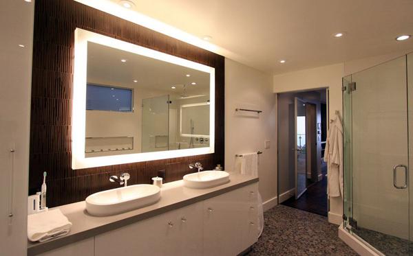 espelho de banheiro sofisticado