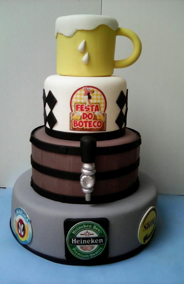 bolo festa de boteco