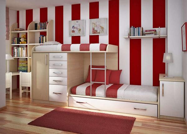 prateleira de quarto simples