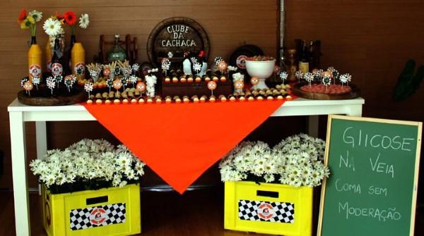 decoração festa de boteco barata