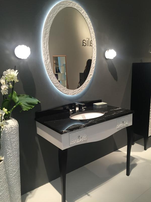 espelho de banheiro redondo