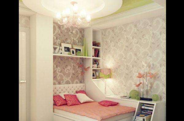prateleira de quarto fina