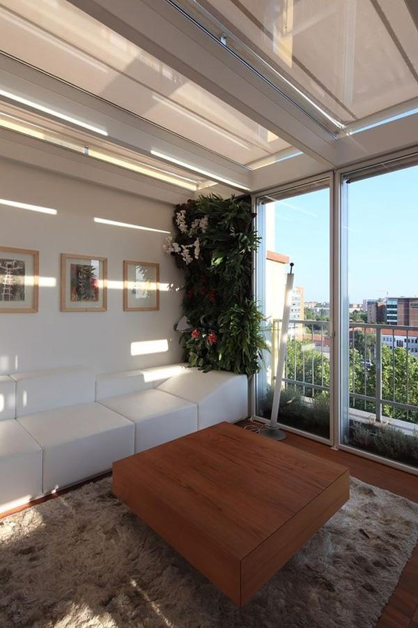 horta vertical na varanda