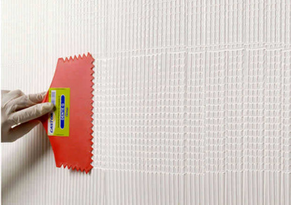 textura de parede quadriculado