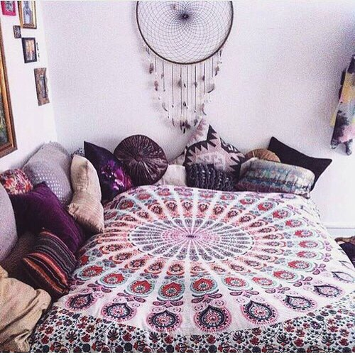 filtro dos sonhos quarto hippie