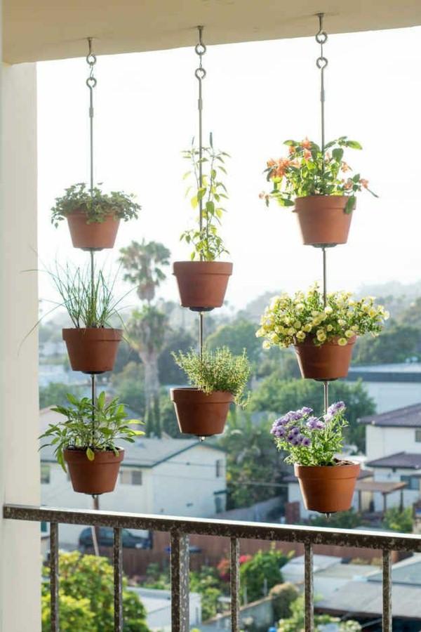 horta vertical com corrente