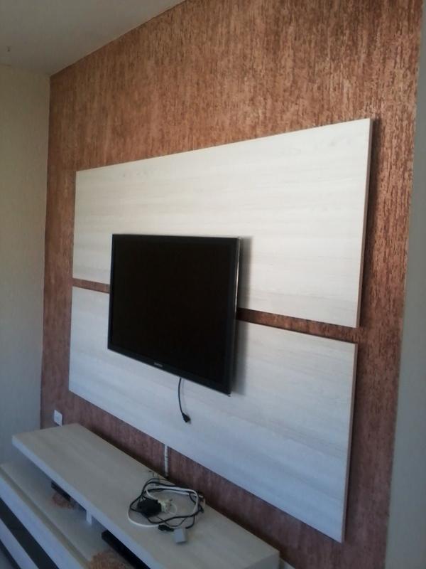 textura de parede tv