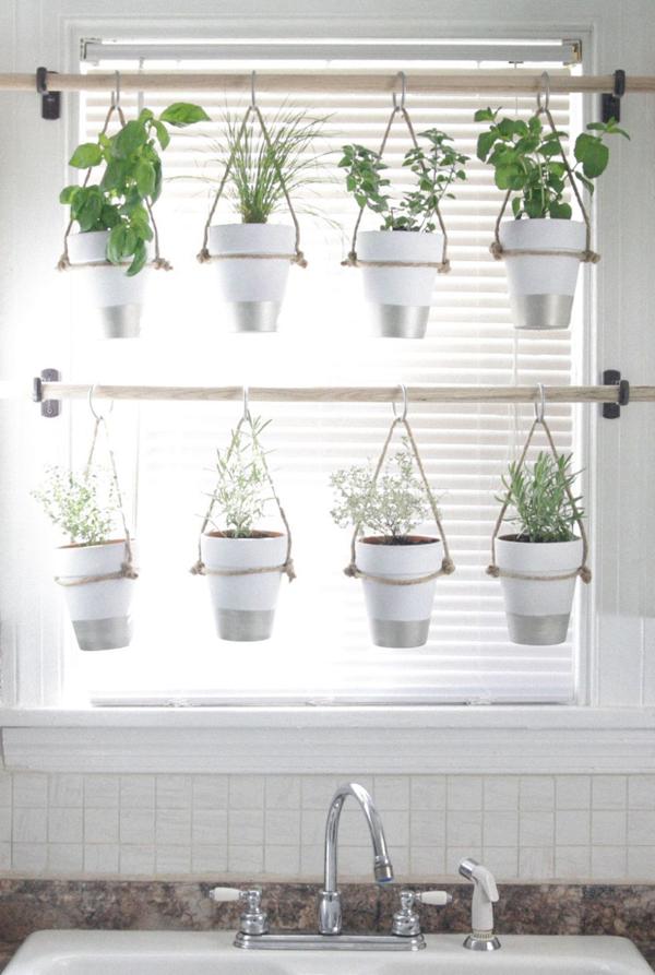 horta vertical janela