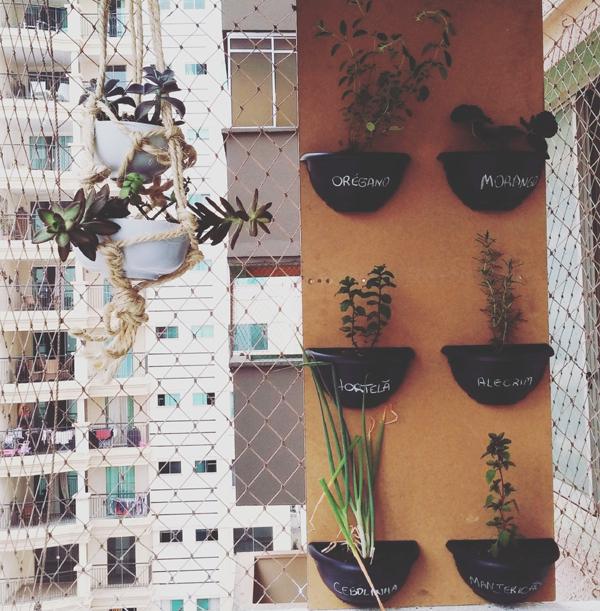 horta vertical vaso metade