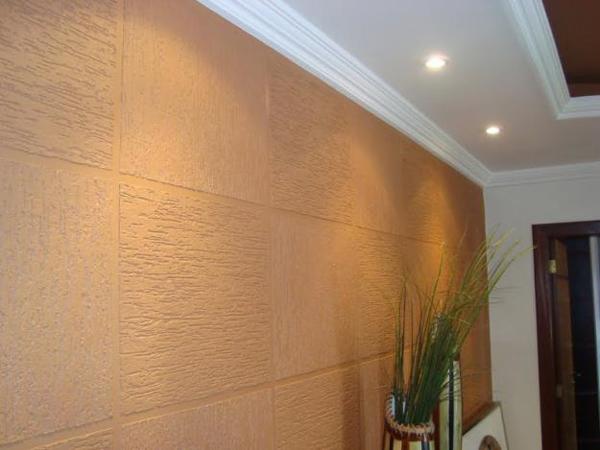 textura de parede com luz
