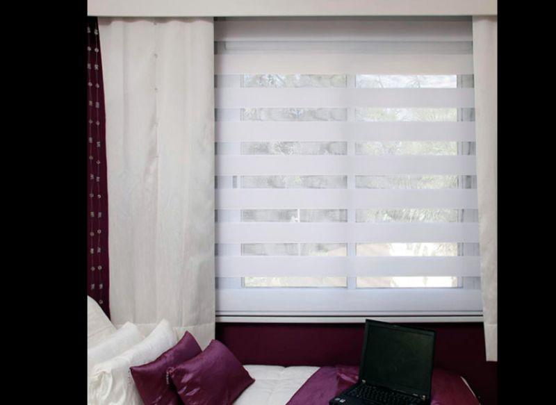 persiana de quarto horizontal