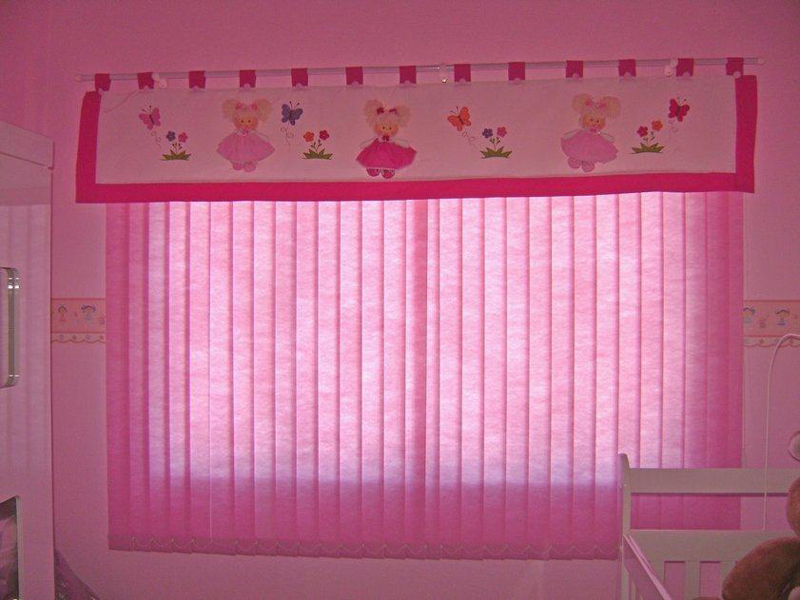 persiana de quarto infantil