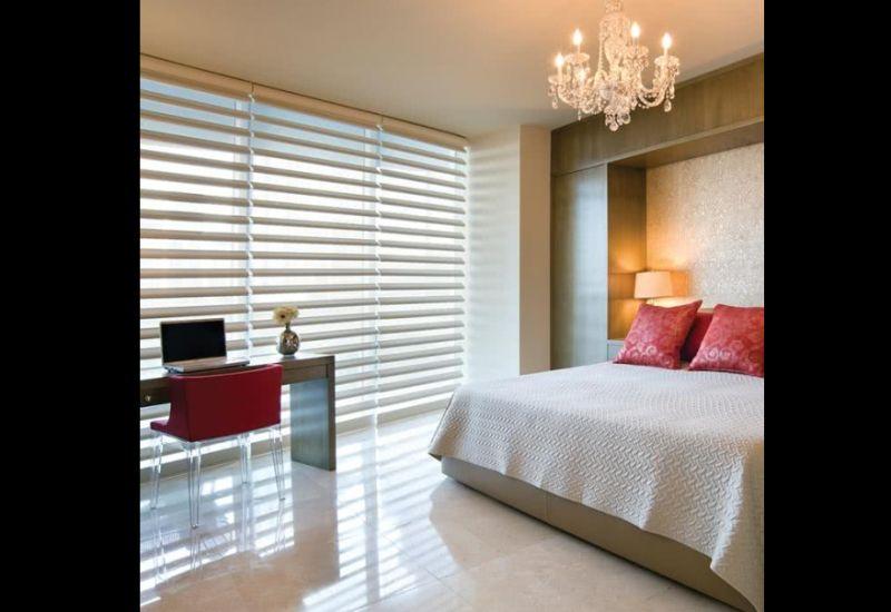 persiana de quarto quarto de casal