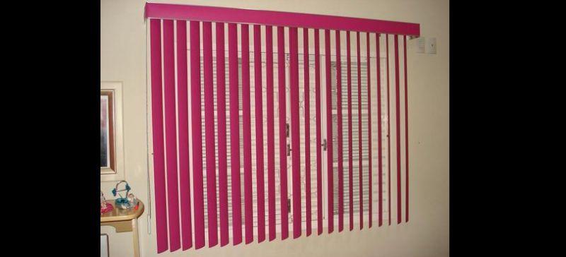 persiana de quarto pink