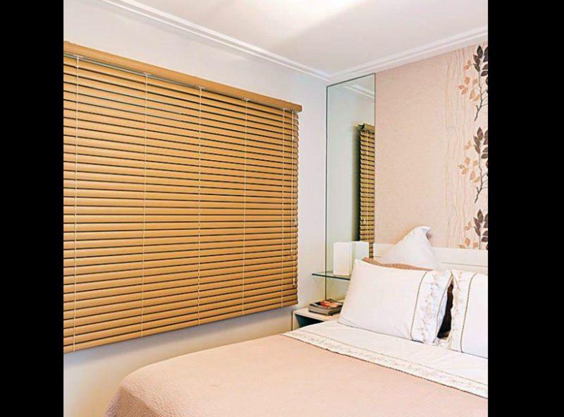 persiana de quarto madeira