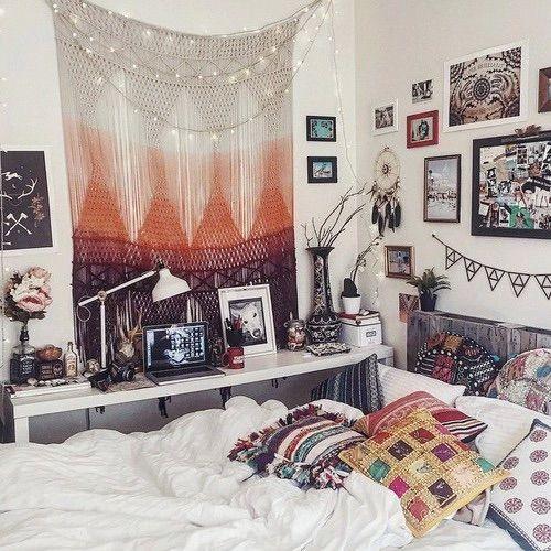 quarto hippie trançado