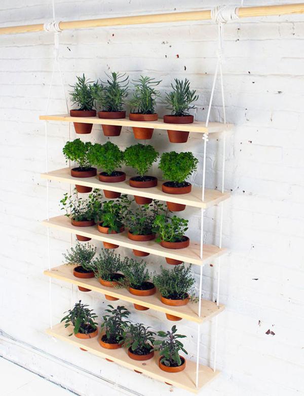 horta vertical vasos