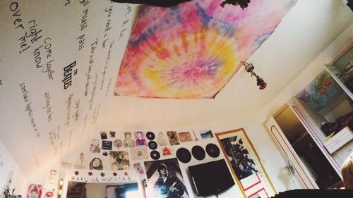 teto quarto hippie