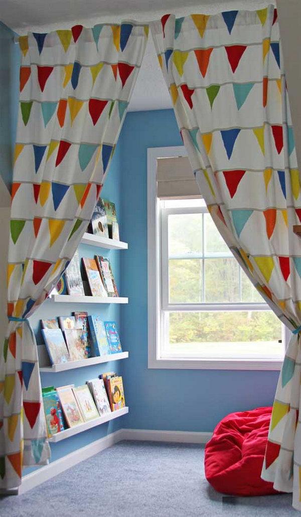 canto da leitura na janela