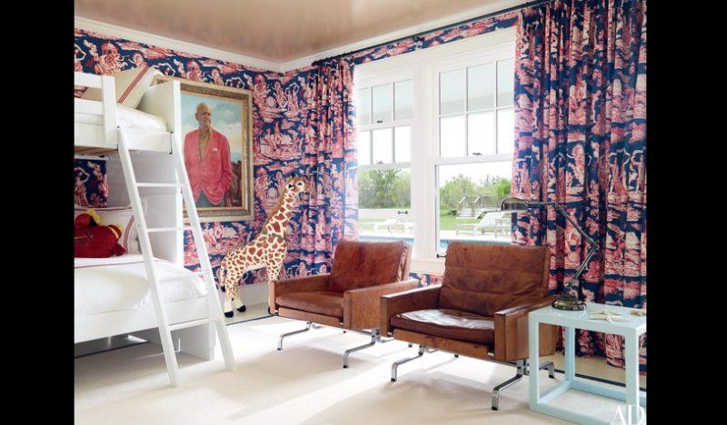 parede com tecido cortina