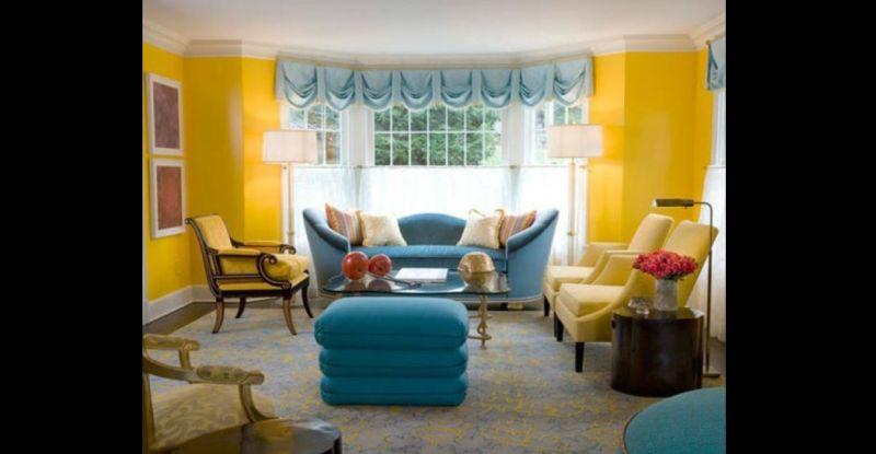 cor para sala amarela