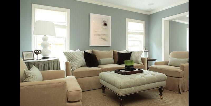 cor para sala azul claro