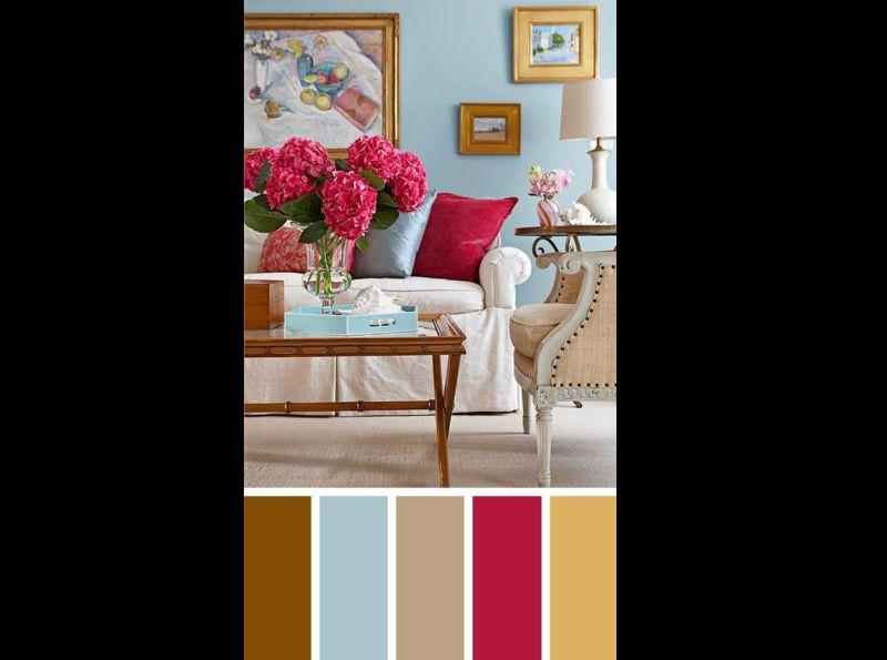 cor para sala colorida