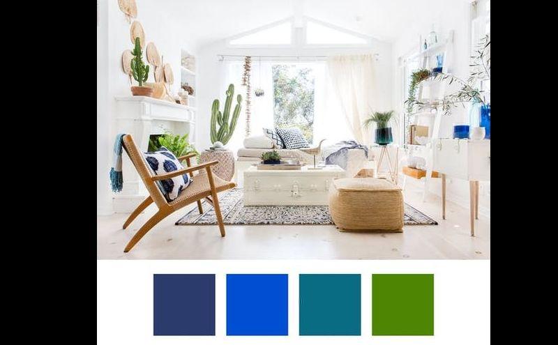 cor para sala suave