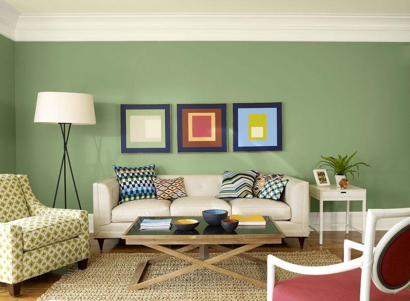cor para sala verde