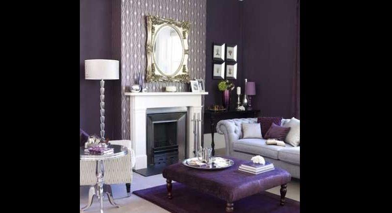 cor para sala violeta