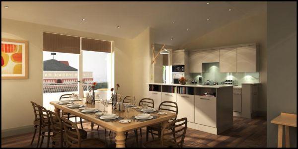 Decora 231 227 O E Projetos Cozinha Americana Pequena Com Sala
