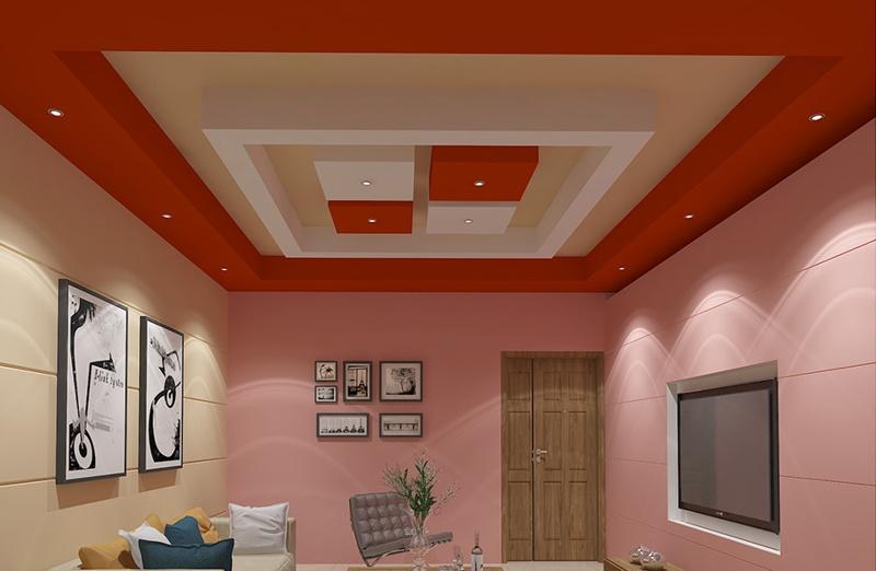 teto vermelho
