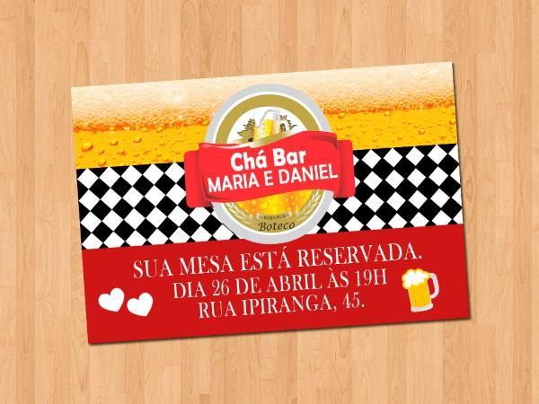 Cha Bar Simples E Moderno 33 Fotos Bolos Convites Brincadeiras