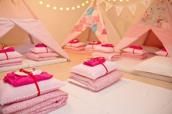 barracas para festa do pijama