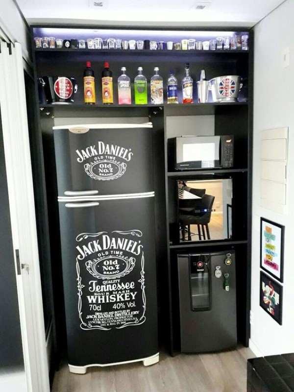 geladeira envelopada inox