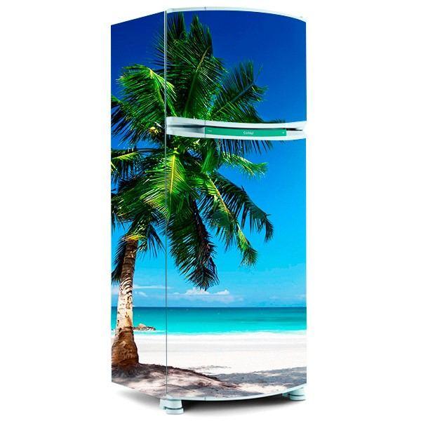envelopamento de geladeira com fotos