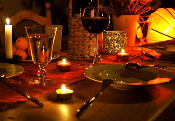 Jantar à Luz de Velas
