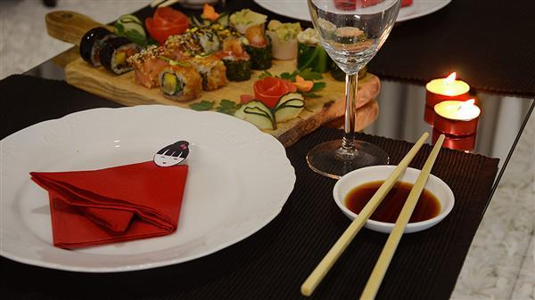 Jantar Japonês em Casa