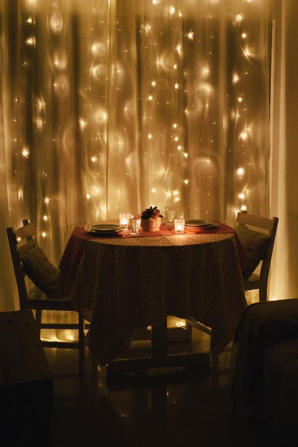 Jantar com Luzes