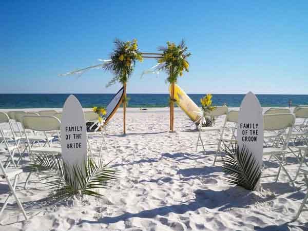 Tema Surf para casamento