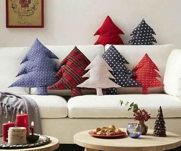 Decoração natalina almofadas